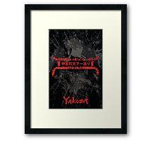 Yakuza Kiryu Poster Framed Print