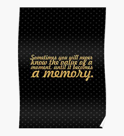 """Sometimes you will... """"Dr. Seuss"""" Inspirational Quote Poster"""