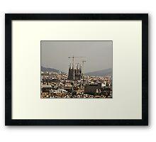 """Church of Perpetual Construction"" (Sagrada Familia) Framed Print"