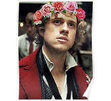 Enjolras with a Flower Crown Poster