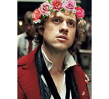 Enjolras with a Flower Crown Photographic Print