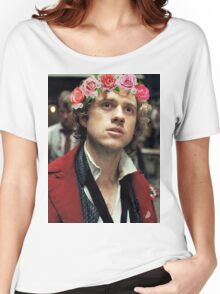 Enjolras with a Flower Crown Women's Relaxed Fit T-Shirt