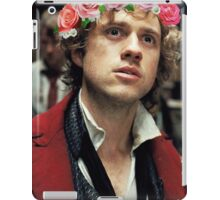 Enjolras with a Flower Crown iPad Case/Skin