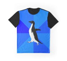 Socially Awkward Penguin MEME Graphic T-Shirt
