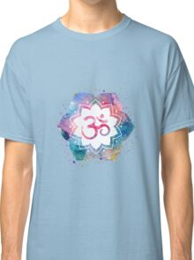 Om Sign Lotus Classic T-Shirt
