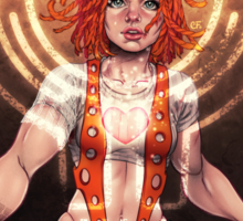 The Fifth Element: Leeloo Sticker