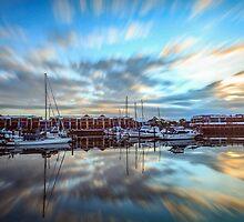 Raby Bay Dawn - Cleveland Qld Australia by Beth  Wode