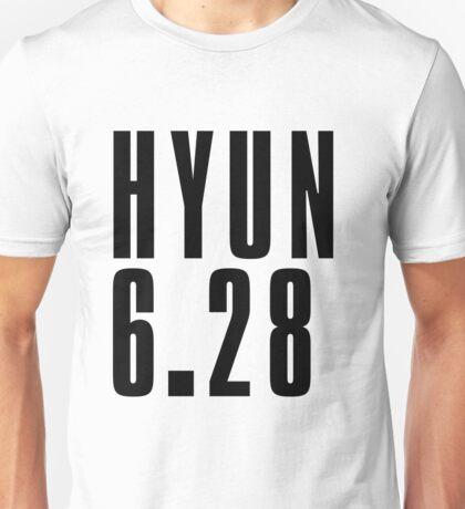 HYUN - Black Unisex T-Shirt