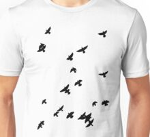 Flock of birds Unisex T-Shirt