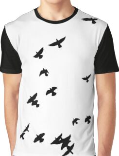 Flock of birds Graphic T-Shirt