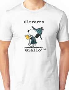 Snoopy Oltrarno Giallo Club Unisex T-Shirt