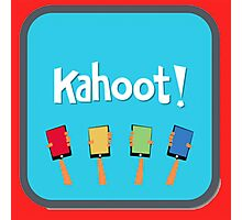 Kahoot Game Icon Photographic Print