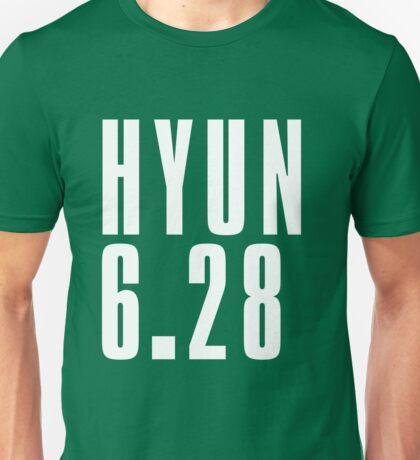 HYUN - White Unisex T-Shirt