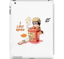 Naruto with Ramen iPad Case/Skin