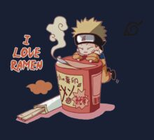 Naruto with Ramen by AsunaYuuki