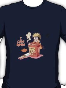 Naruto with Ramen T-Shirt
