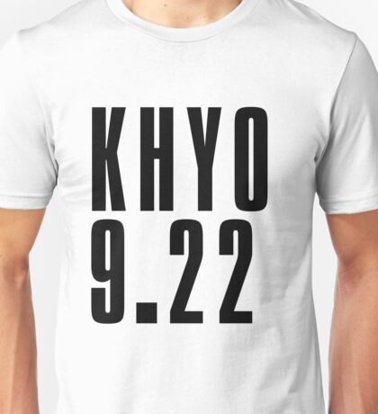 KHYO - Black Unisex T-Shirt