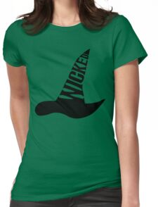 Wicked - in BLACK Womens Fitted T-Shirt