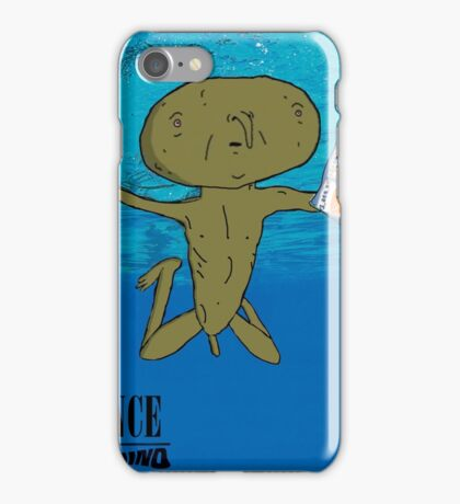 Clarence - Nevermind Nirvana iPhone Case/Skin