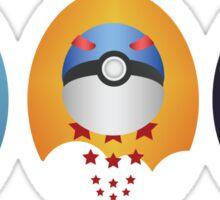 Pokemon Pokeball Set Sticker