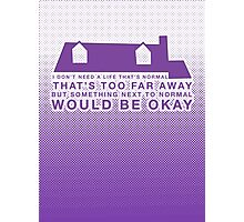 Next To Normal - House Photographic Print