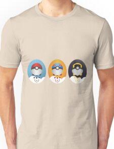 Pokemon Pokeball Set Unisex T-Shirt