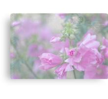 Odd Stemmed Wild Flower  Canvas Print