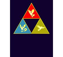 Kanto's Legendary Triforce 2.0 Photographic Print