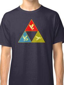 Kanto's Legendary Triforce 2.0 Classic T-Shirt