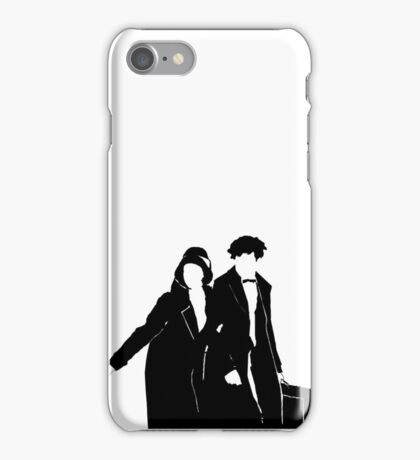 Newt and Tina Silhoute  iPhone Case/Skin