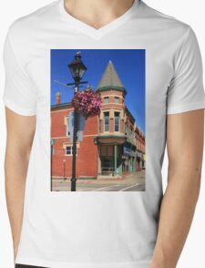Yarmouth in Blooms Mens V-Neck T-Shirt