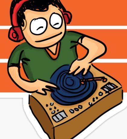 Le DJ Sticker