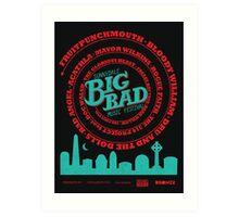 Big Bad Sunnydale Art Print