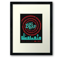 Big Bad Sunnydale Framed Print