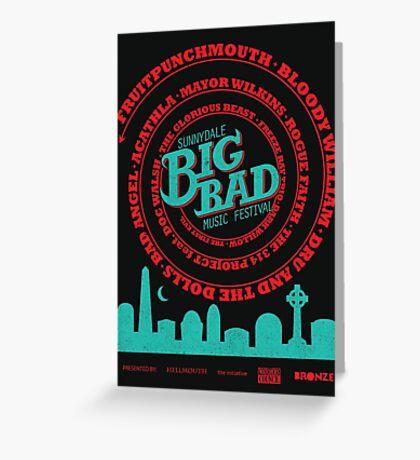 Big Bad Sunnydale Greeting Card