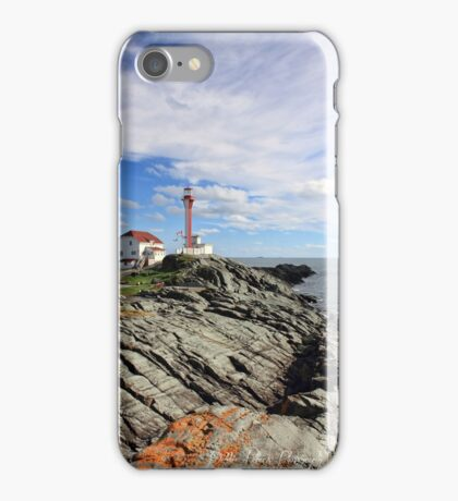 Cape Forchu in September iPhone Case/Skin