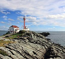Cape Forchu in September by Debbie  Roberts