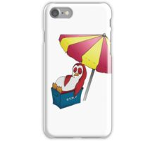 Summer Penguin iPhone Case/Skin