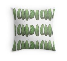 Cucumbers 2 Throw Pillow