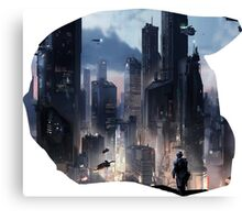 Halo City Canvas Print