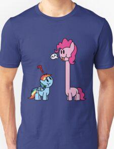 Giraffe Pinkie Unisex T-Shirt