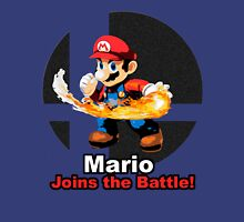 Mario Joins the Battle! Unisex T-Shirt
