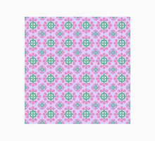Lovely Lilac with Pink and Green Pattern Unisex T-Shirt