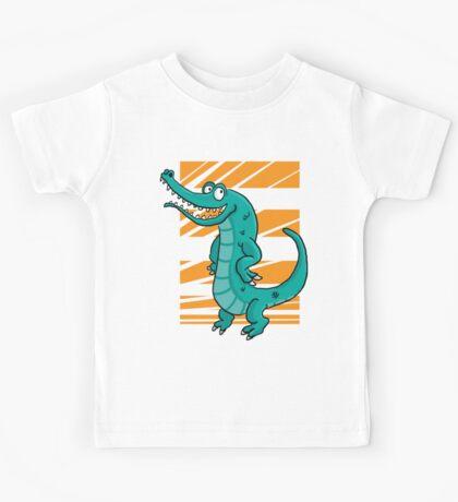 Le crocodile fier Kids Tee