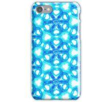 Alien Invasion glowing blue pattern iPhone Case/Skin