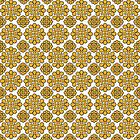 Gorgeous Golden Color on White Pattern by Greenbaby