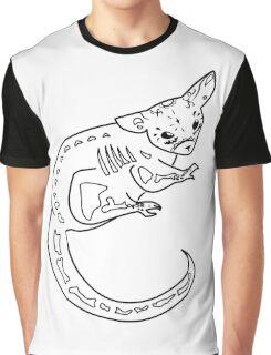 Sugar Skull Possum Graphic T-Shirt