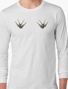 Swallows  Long Sleeve T-Shirt