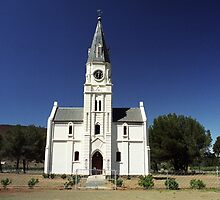 Dutch Reform Church - Nieu Bethesda, Sth Africa by Bev Pascoe