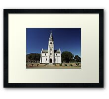 Dutch Reform Church - Nieu Bethesda, Sth Africa Framed Print